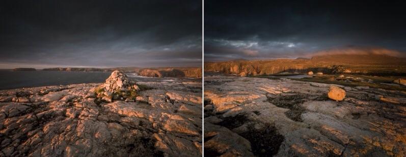 Red Cairn, Mangersta, Isle of Lewis