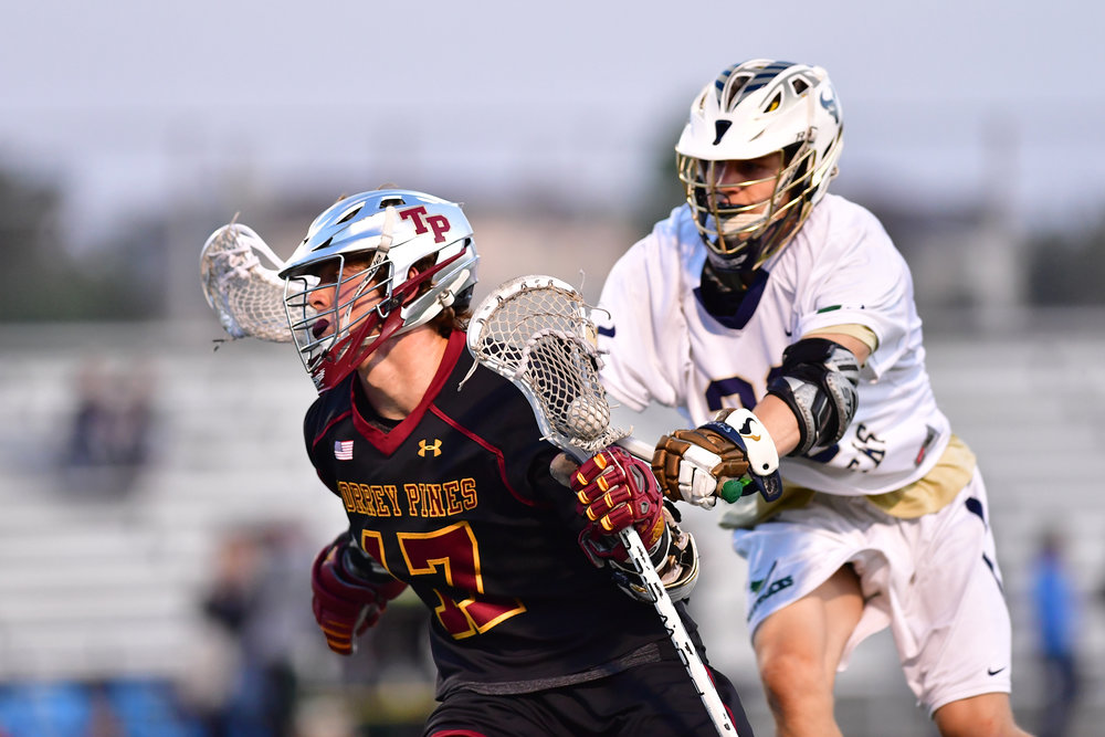 Fourth quarter surge lifts Falcons past LCC in boys lacrosse battle