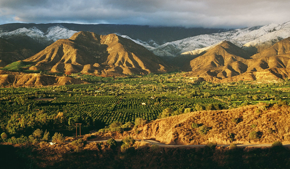 The magical Ojai Valley.