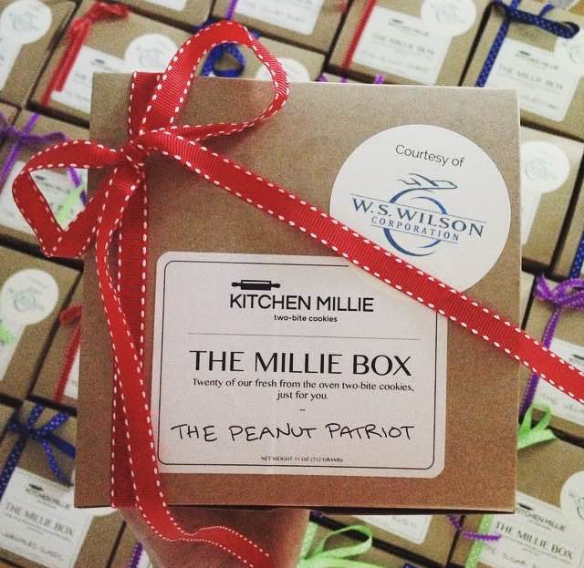 Our Millie Boxes make great client gifts! We can customize all boxes with your message and branding/logo.