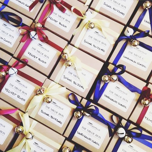 Holiday Cookie Gift Boxes | kitchenmillie.com