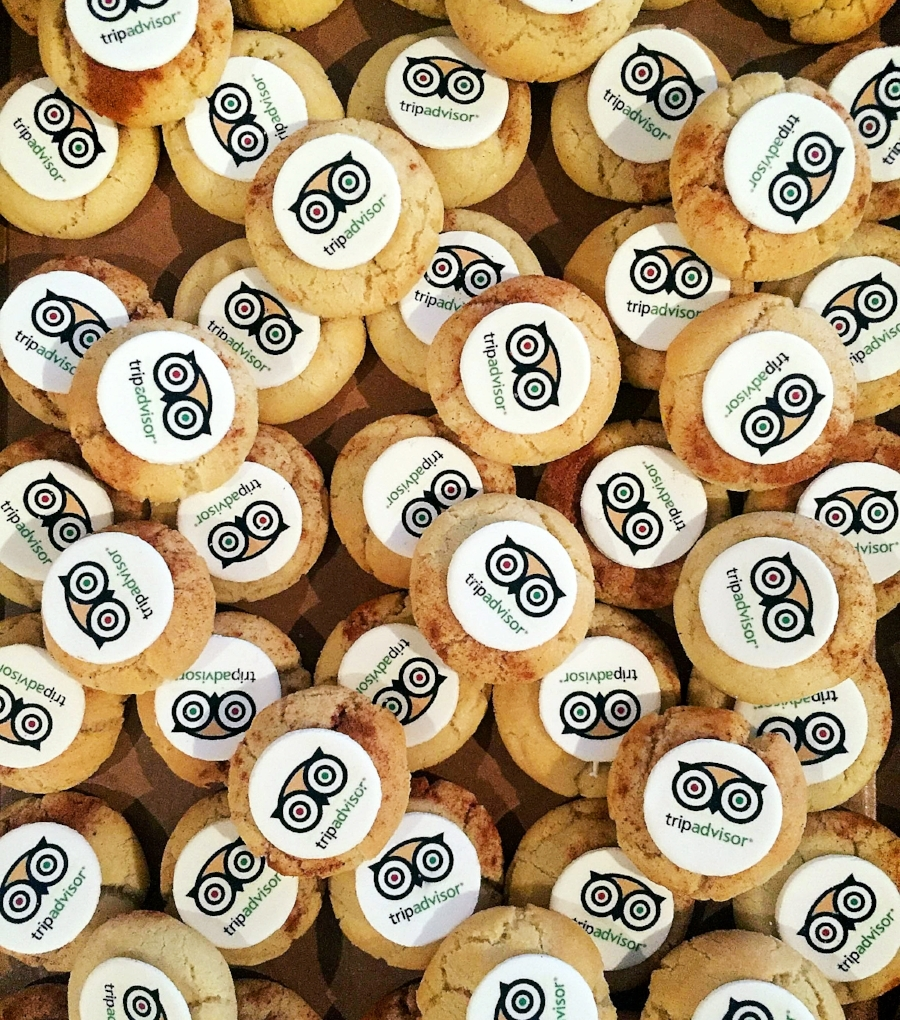 Corporate Logo Cookies Tripadvisor kitchenmillie.com