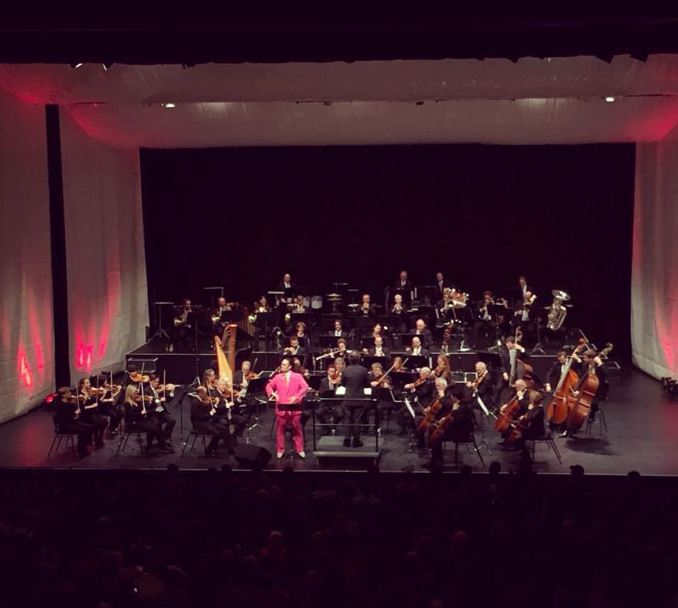 Performing 'Tane and the Kiwi' with the NZSO.