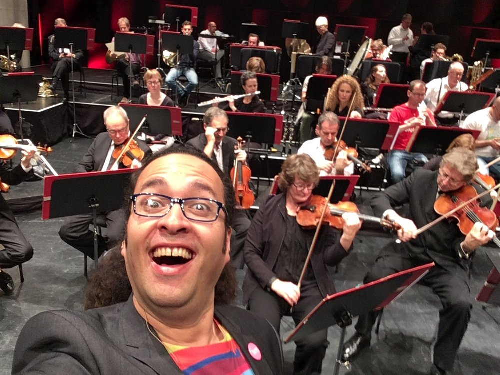 Tuning my smile with the NZSO.