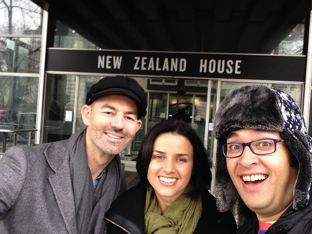 Visiting NZ House in London