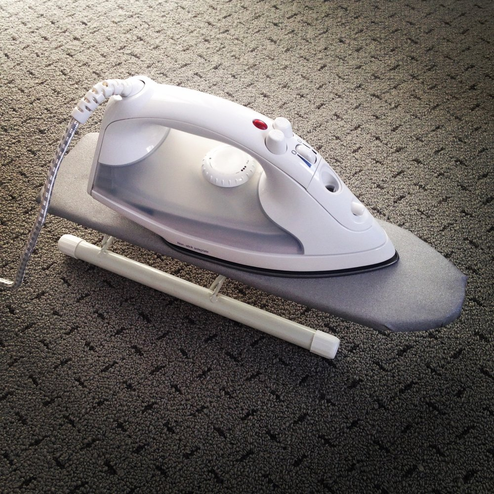 World's Smallest Ironing Board