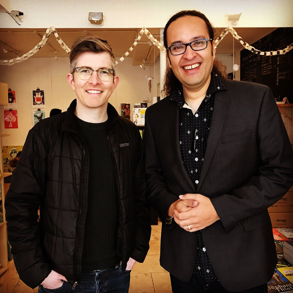 Chris & Gareth Malone in London
