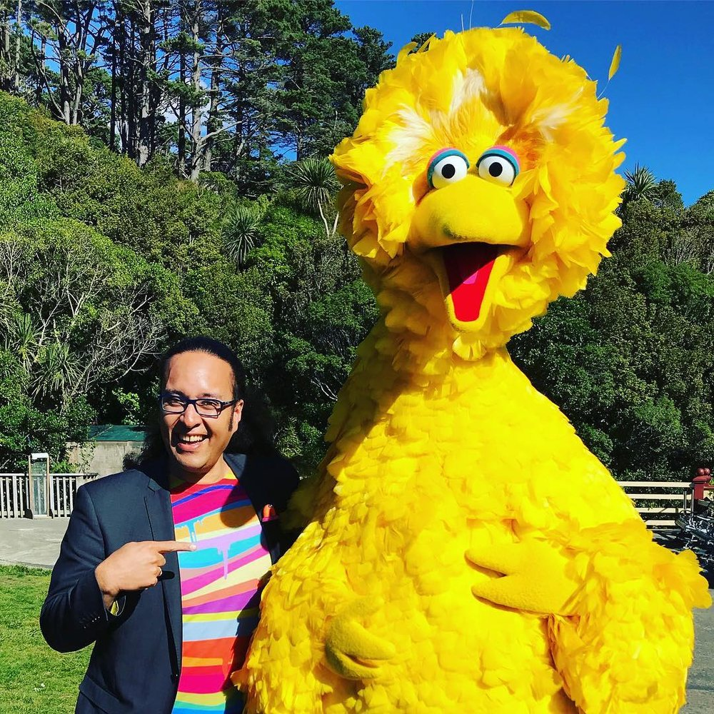 Chris & Big Bird