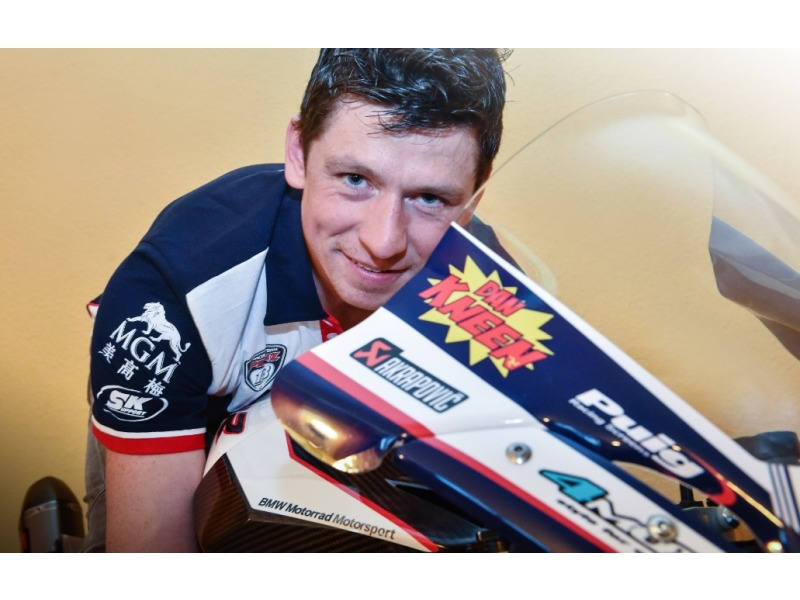 Dan Kneen  © 2017, Roadracing World Publishing, Inc. From a press release issued by Penz13.com BMW Motorrad Racing Team: