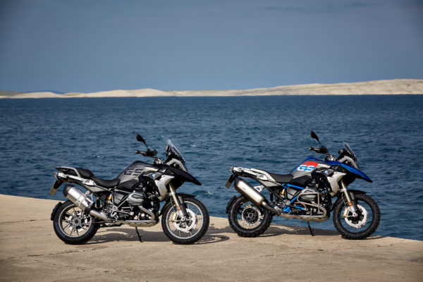 BMW Motorrad 2017 R1200GS Rallye & R1200GS Exclusive