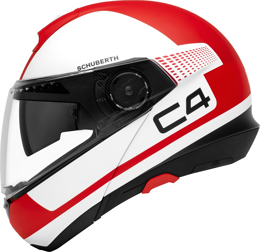 Schuberth C4 Motorcycle Helmet - USA DOT