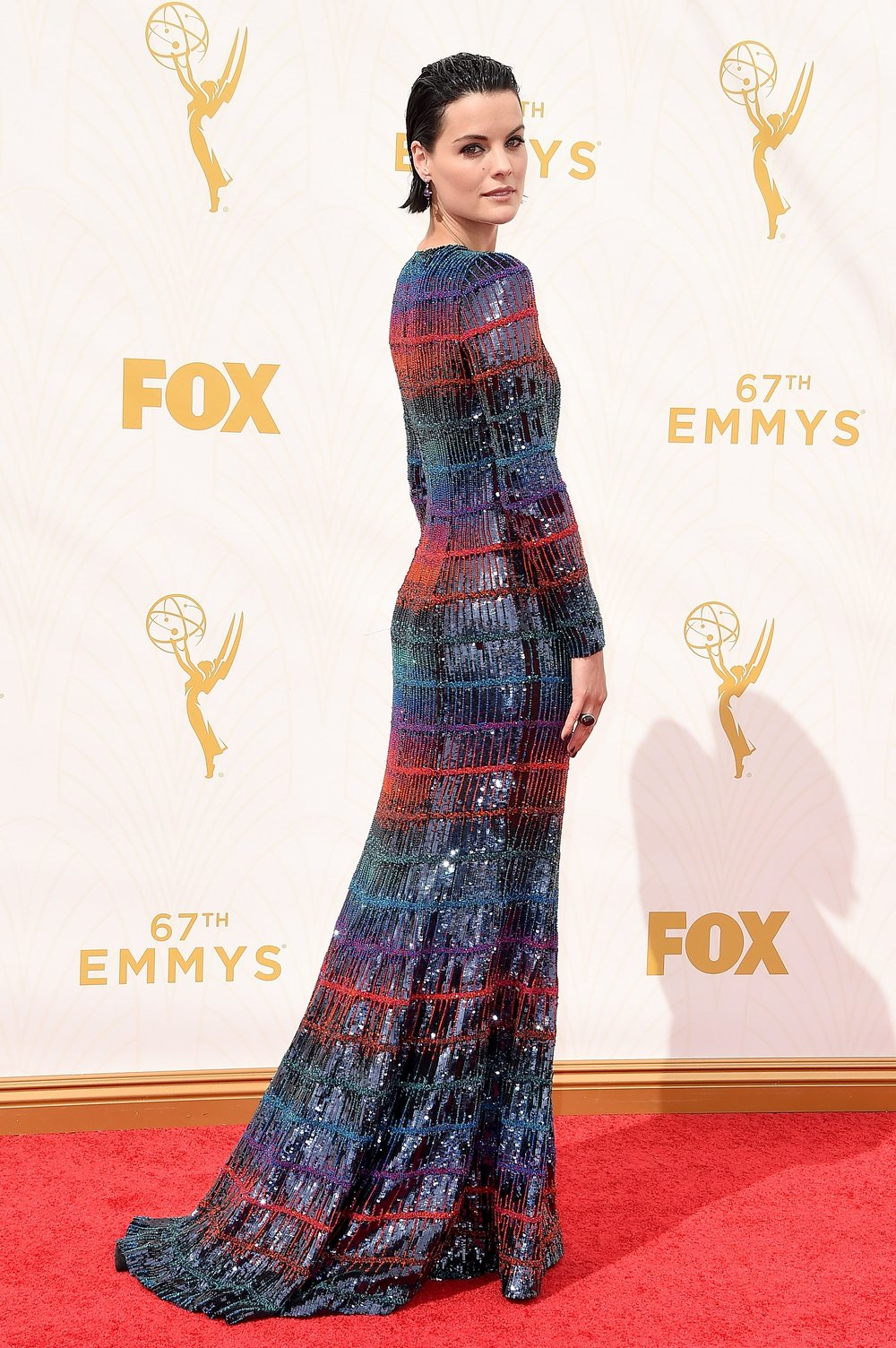 jaime alexander in armani privé    photo: getty images