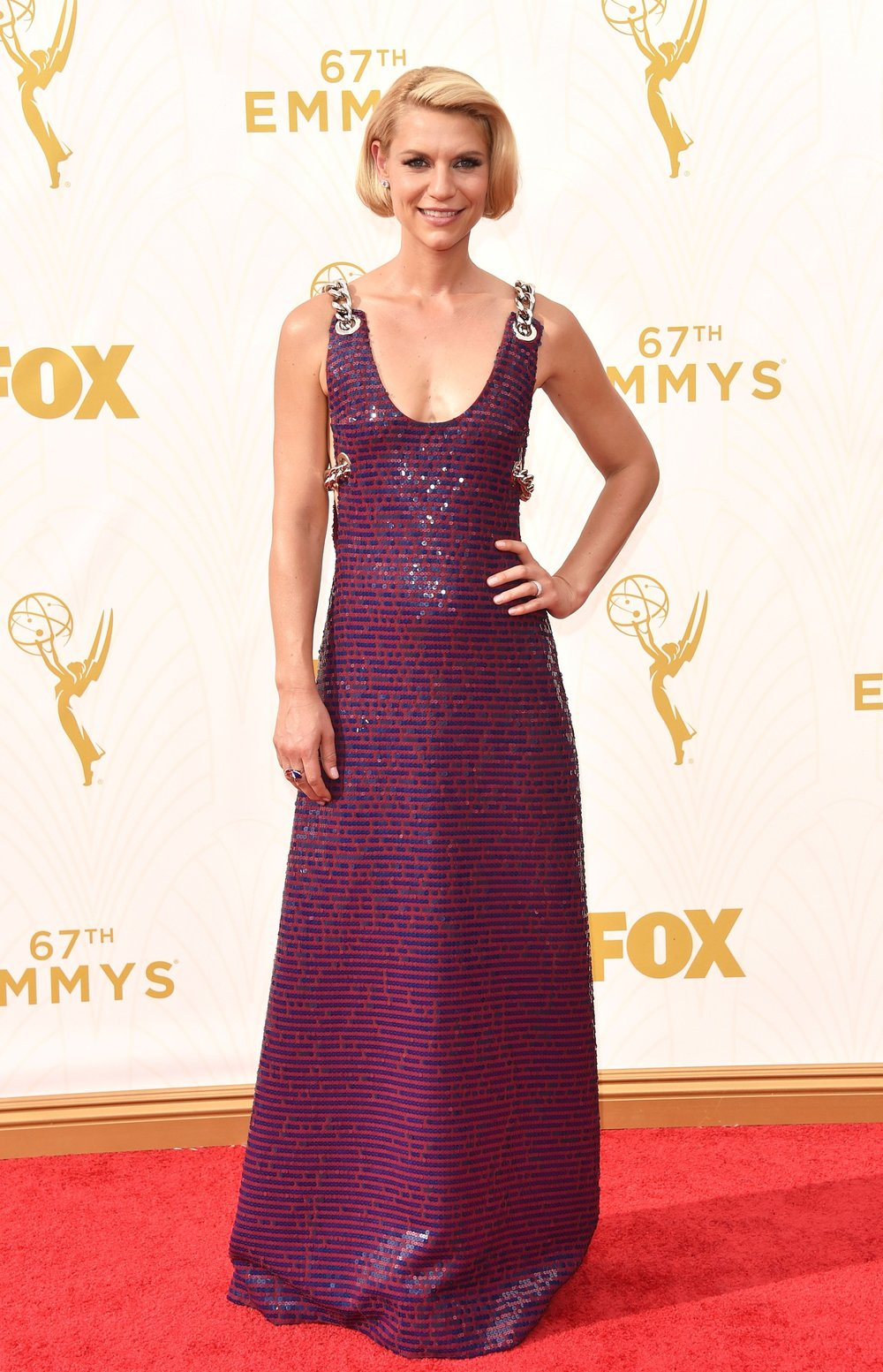 the fabulous claire danes in prada    photo: getty images