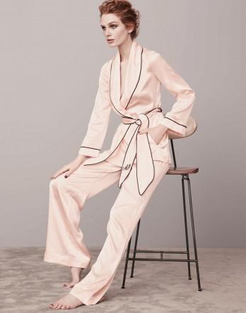classic pyjama Jacket -agent provocateur - $450