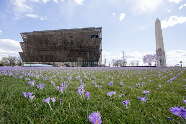 The National Museum of African American History and Culture is due to open to the public Sept. 24. (Photo by Michael Barnes, courtesy of the Smithsonian Institution)