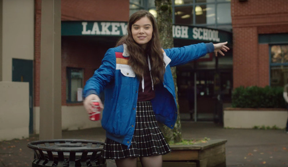 Movie still from The Edge of Seventeen