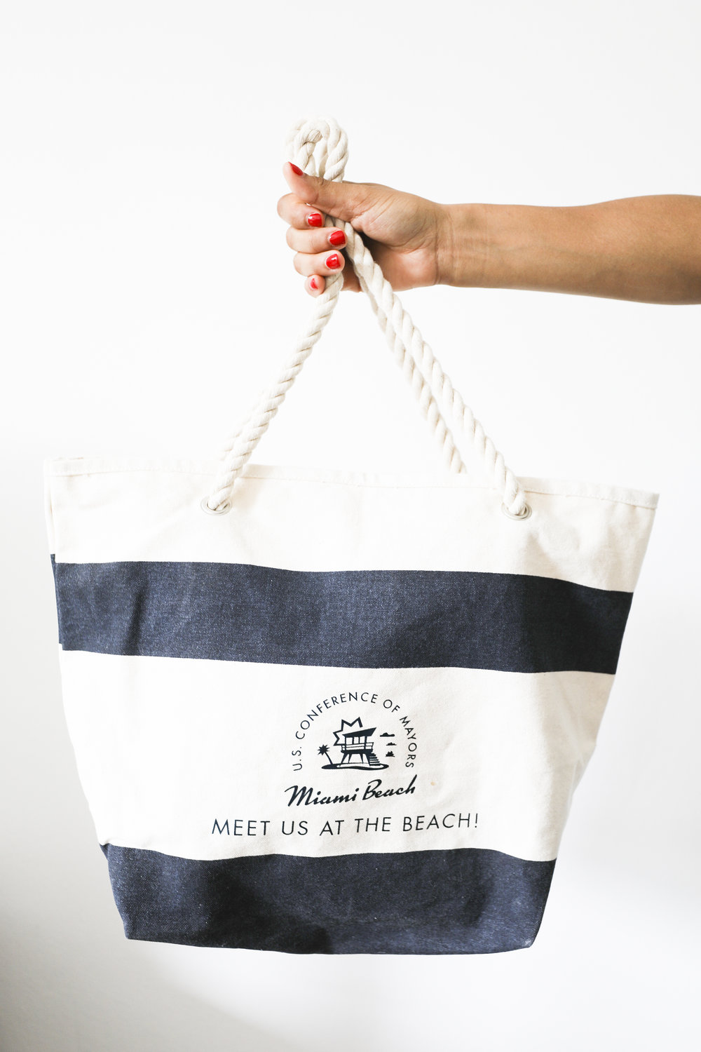 Tote from the U.S. Conference of Mayors in Miami this year