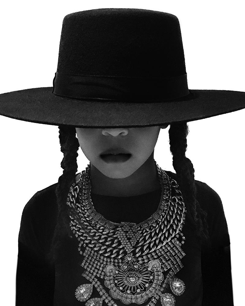 Blue Ivy Carter as Beyonce