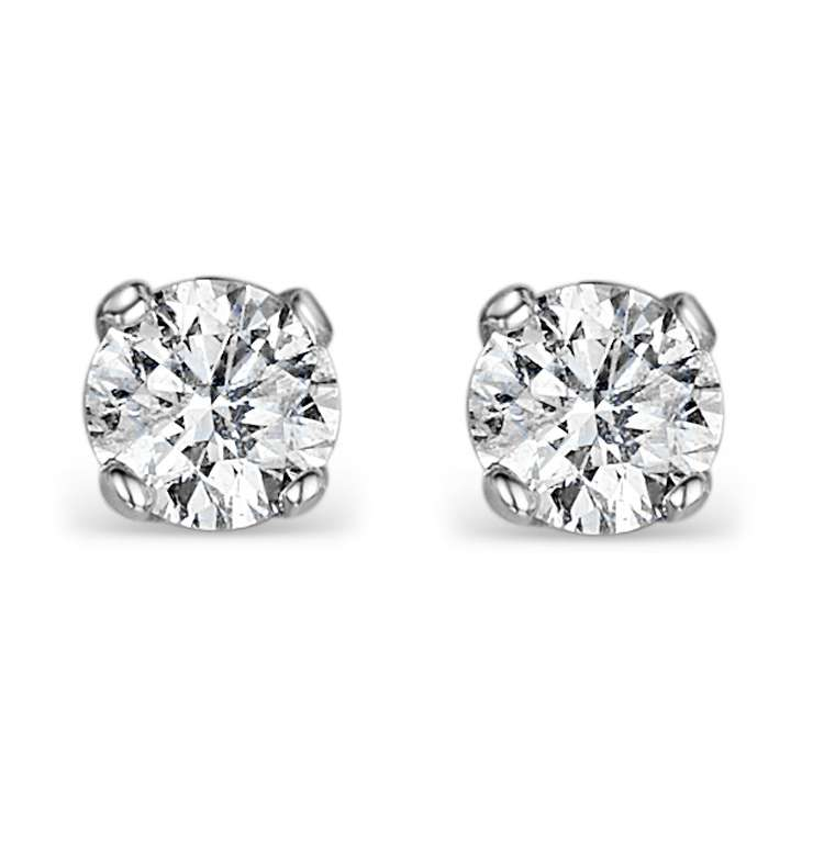 Earrings:  The Diamond Store , $3,477