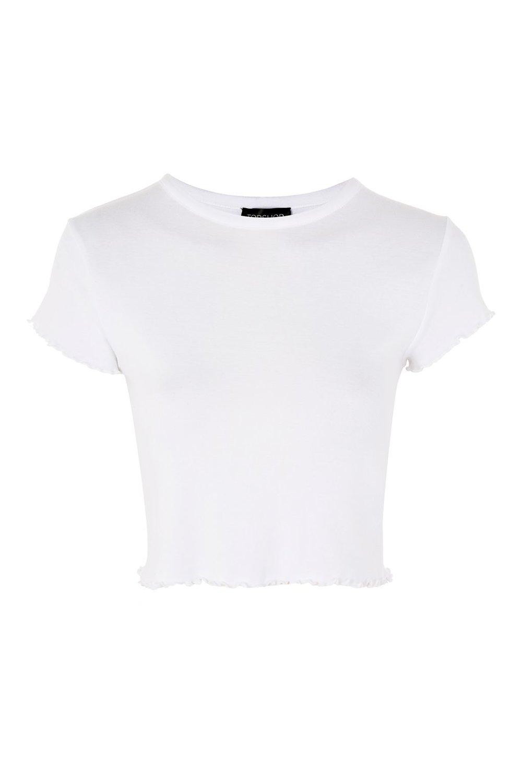 Forever 21 - Frill Short Sleeve T-Shirt, $18