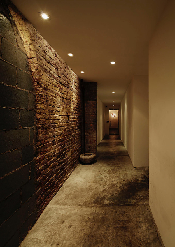 "Photo: Play Earth.inc - hallway leading to Bohemian dubbed ""Basquiat's Road"""