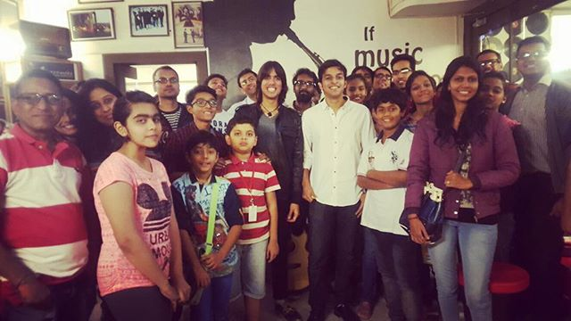 Gave a talk on #music at #musicschool in #india ! #rca #dream #dreamalivemusic #creativity #inspiration #rocknroll #giveback #talk #lecture #school #instamusic #instafollow #instadaily #rock #losangeles #musician #singer #guitarist #songwriter #passion #motivation #mondaymotivation #kids #students #teaching #rock #positivity #hollywood