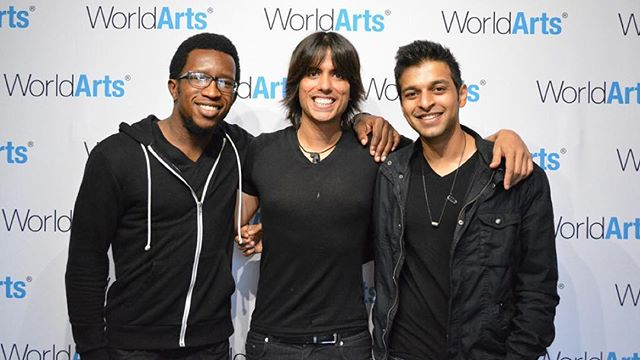 So much fun @worldartsmusic #stage last month! More #comingsoon #songwriter #singer #drums #guitar #acoustic #yamaha #fender #nikhilkmusic #rocknroll #losangeles #hollywood #tbt #thursday #instadaily #instamusic #instafollow #motivation #inspire #create #goals #friends #gig #concert #live #indian #band