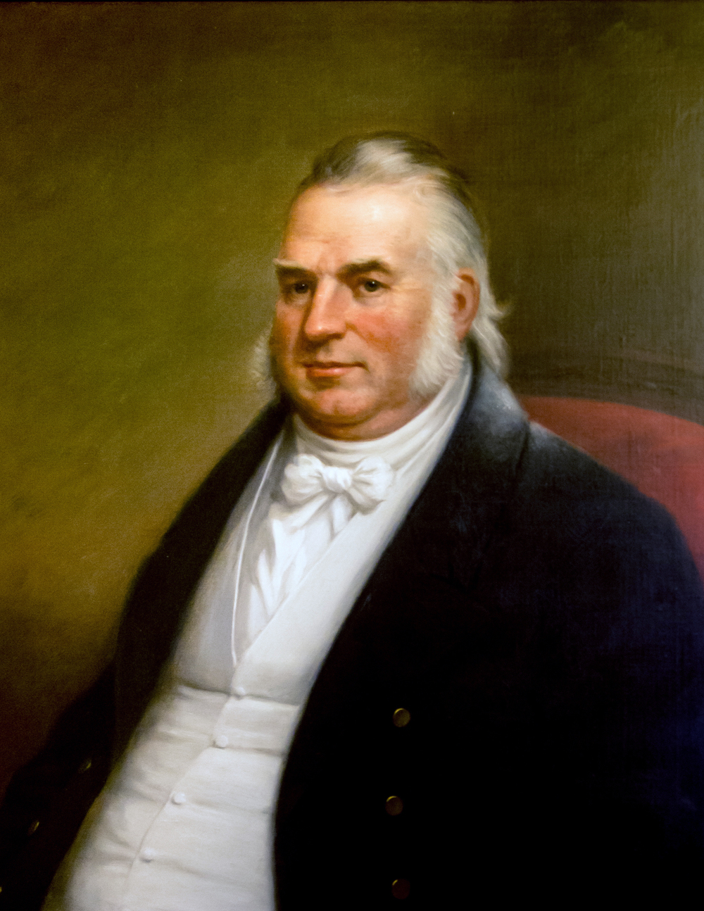 Official portrait by James Sullivan Lincoln