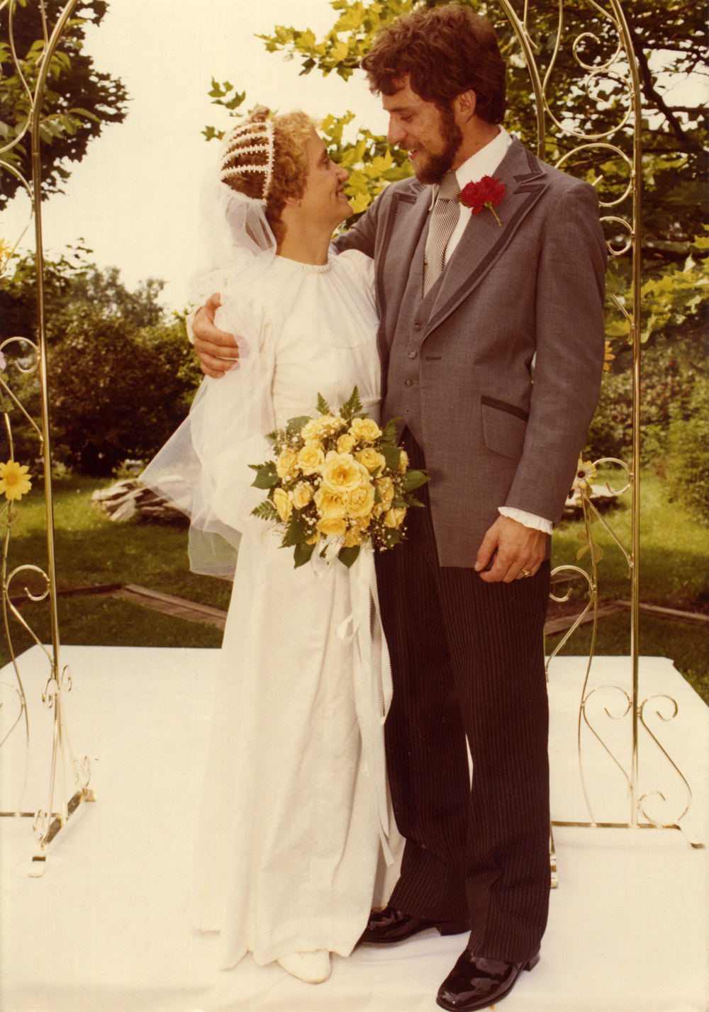 Richard & Gerri Fenner, Crane Park, Kalamazoo, MI, 19 Aug. 1979.