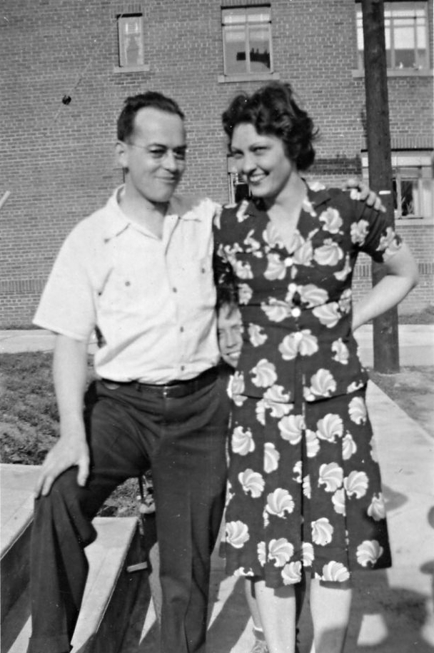 Raymond Fenner Jr. & Dora Willett (Courtesy of Richard Arthur Fenner)