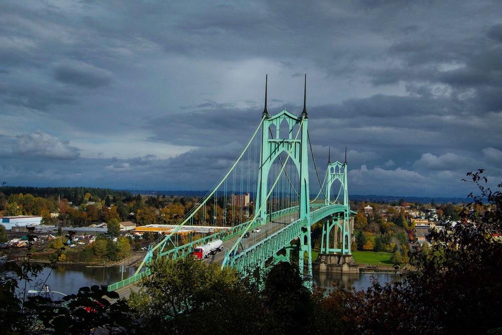 St. Johns bridge, Portland, OR