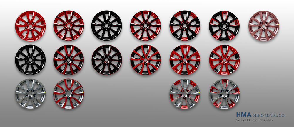 HMA Wheel Design Iterations