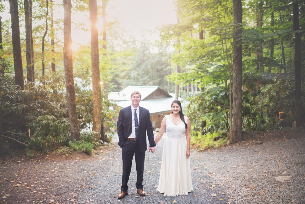 STEFFY + MIKE / Tall Timber Barn, Cresco PA