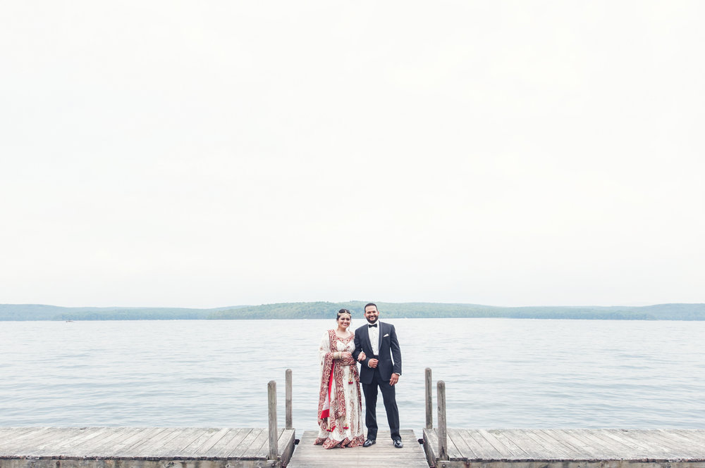 SAHAR + CHRIS / Silver Birches Lakefront Resort, Hawley PA