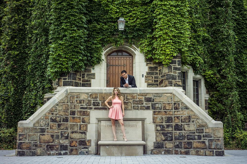 NATALIE + JONATHAN / Lehigh University, Bethlehem PA