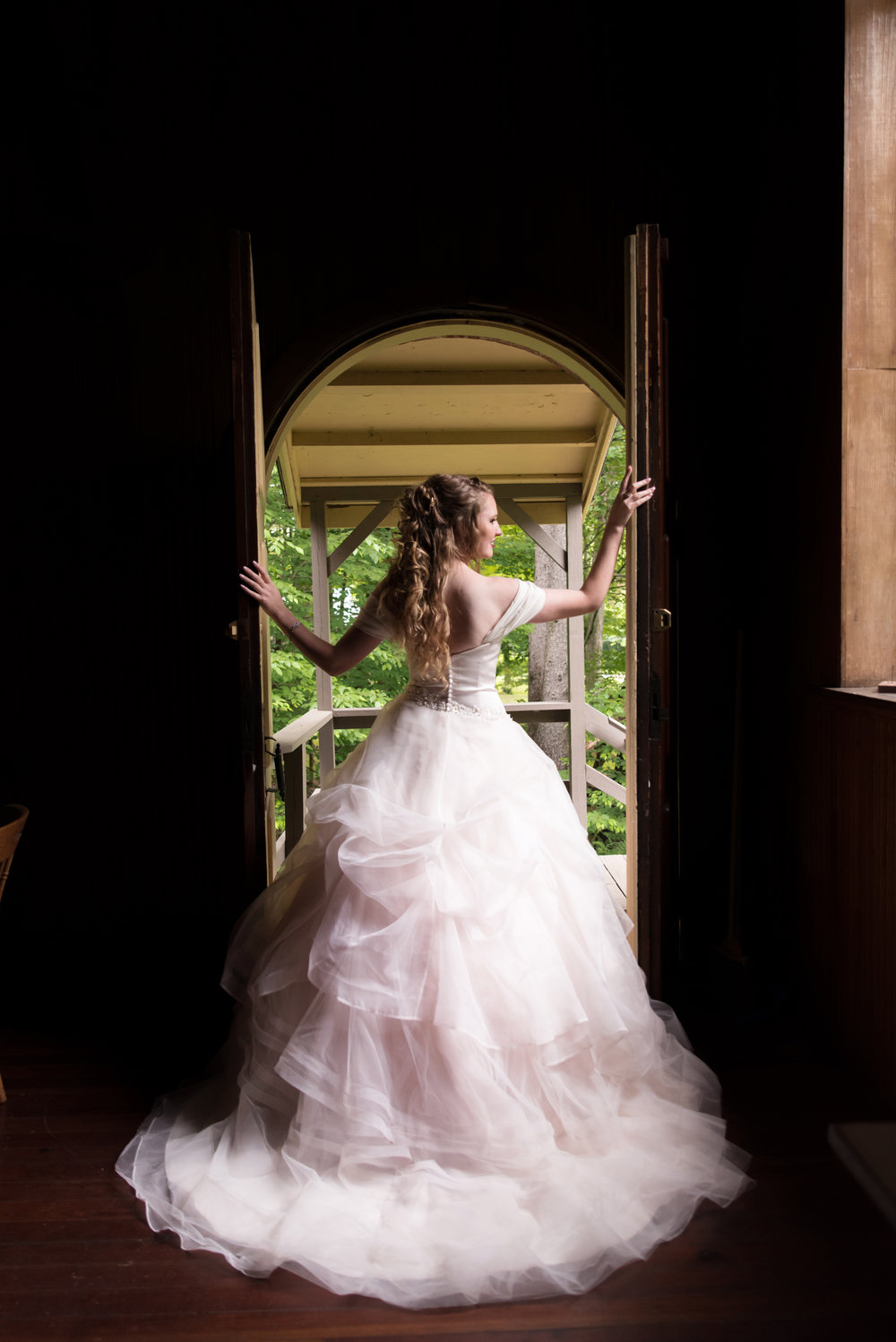 Dramatic Bride in Light