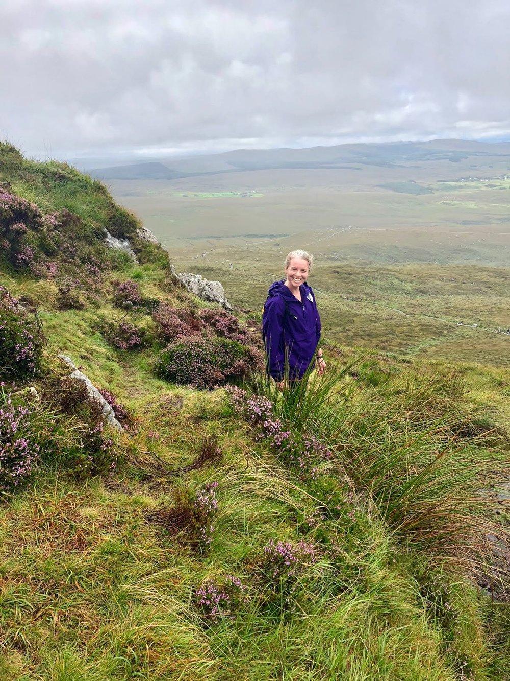 Lisa in her homeland - ireland!