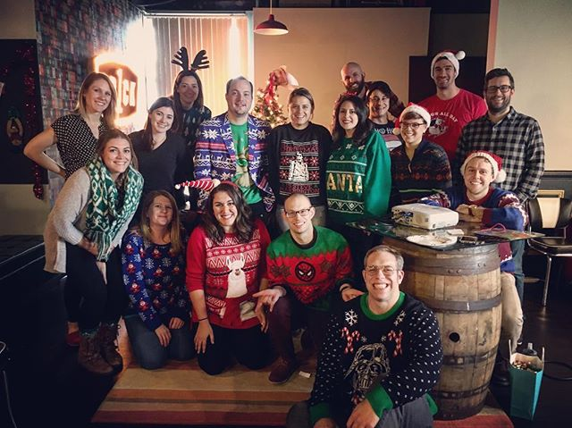 Happy Holidays from our close-knit family to yours. #tr1ckmas