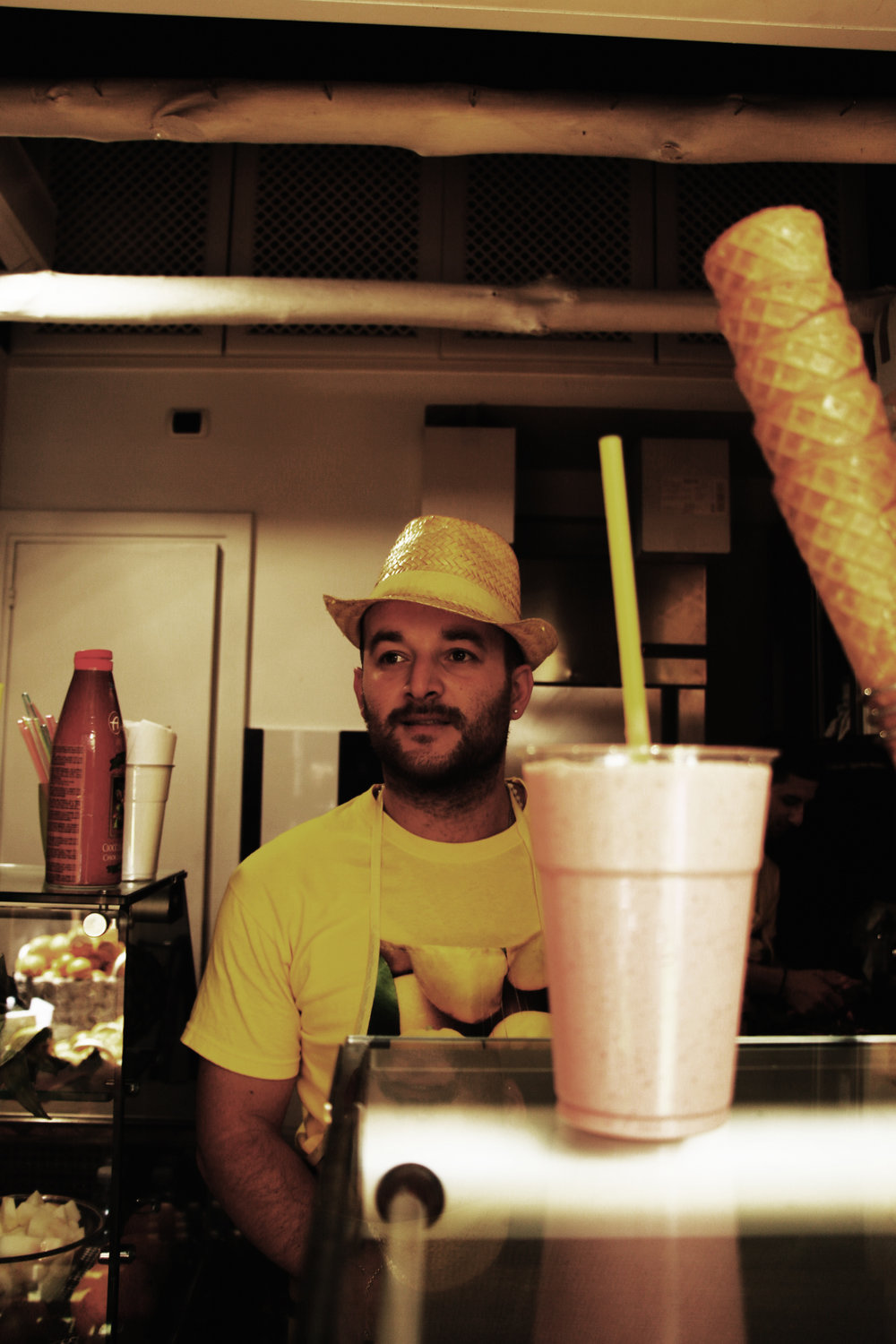 italian smoothie man