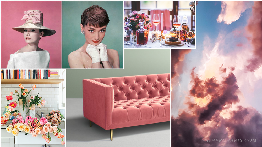 Audrey Hepburn Mood Board