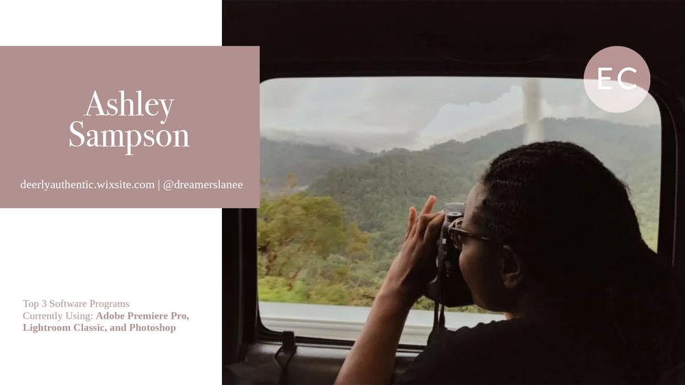 Ashley Sampson feature
