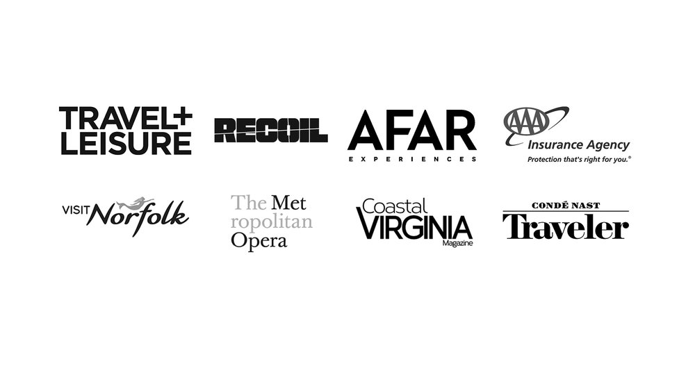 Some of the clients we have had the pleasure to work with on multiple projects.