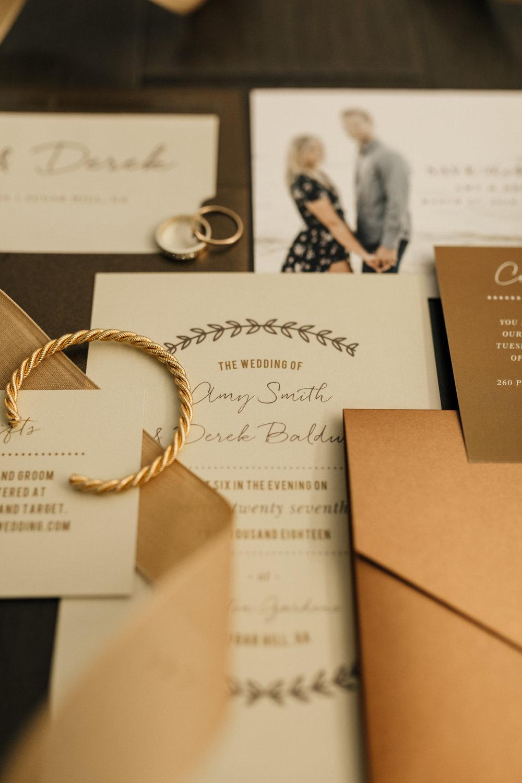 rustic wedding invitations basic invite chantel breanne photography
