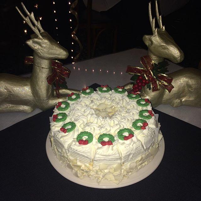 Eggnog Cake at Uricchios!