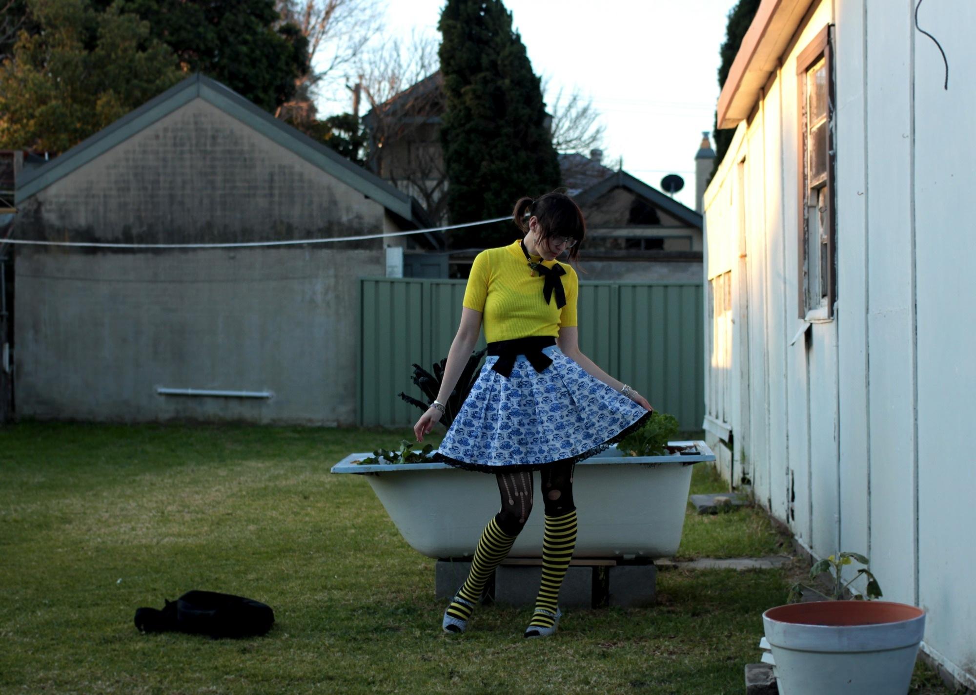 holding skirt ouidt