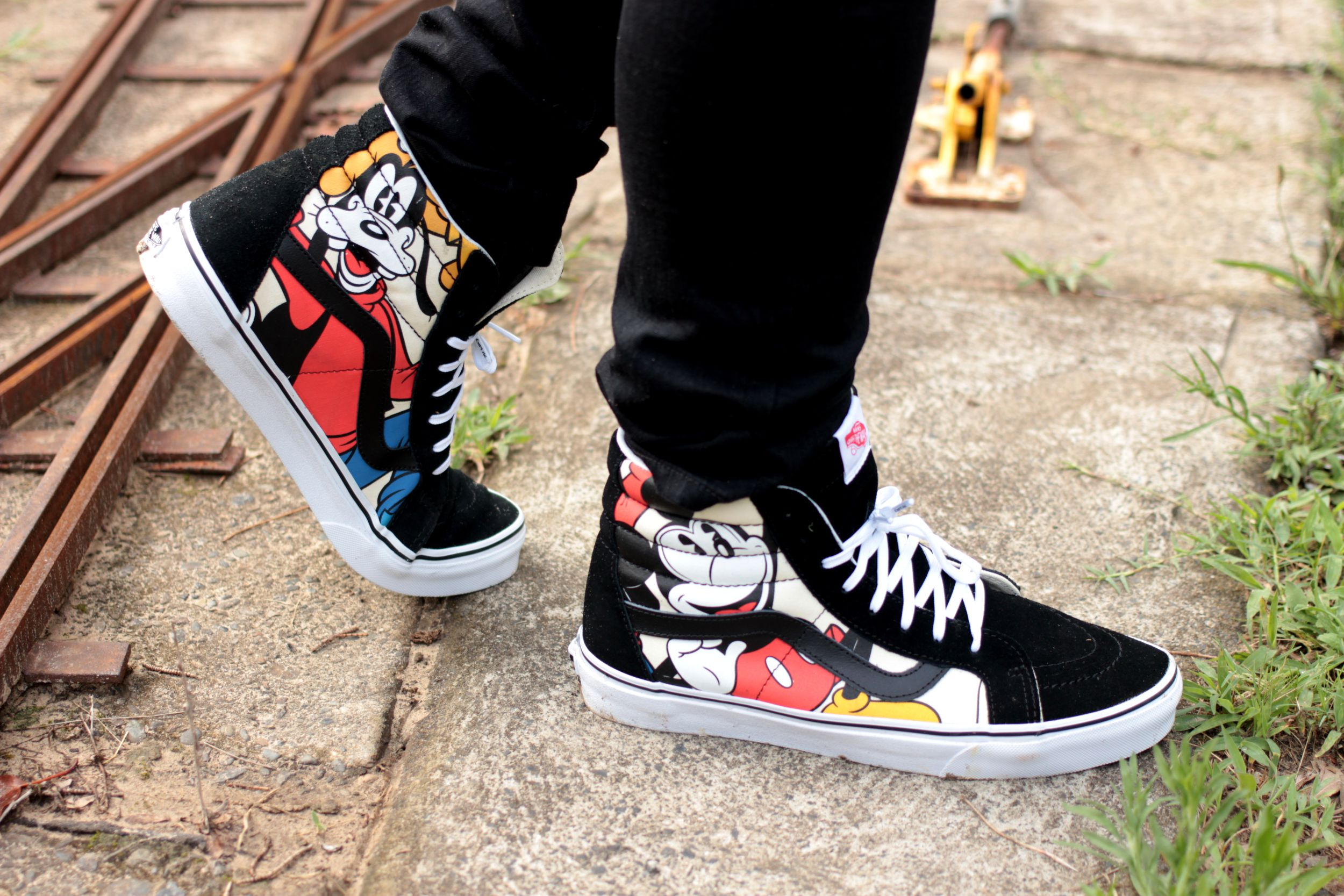 Disney Micky and Goofy Vans