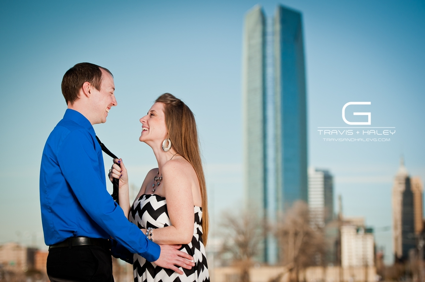 fun romantic oklahoma city wedding photography