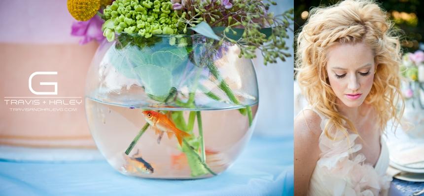 whimsical wedding details goldfish oklahoma city modern wedding photographers