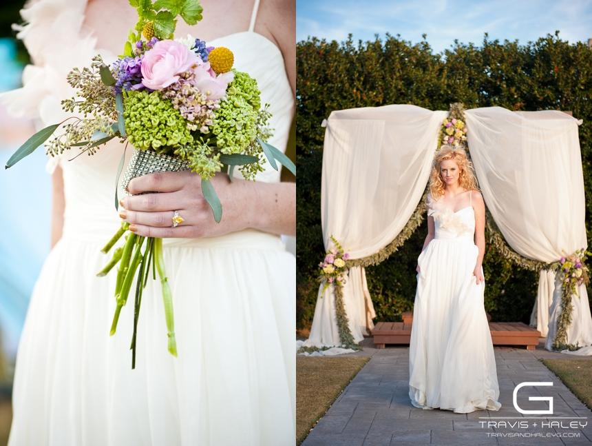 whimsical bridal photos travis + haley g