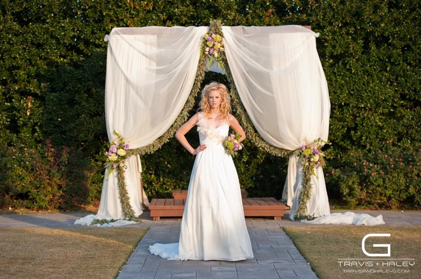 whimsical sun light arbor bride travis + haley g